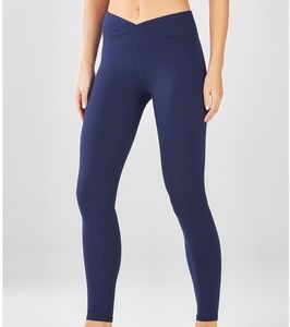 Fabletics Winn Navy Leggings Size M